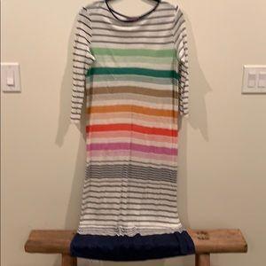 Calypso 100% linen T-shirt dress